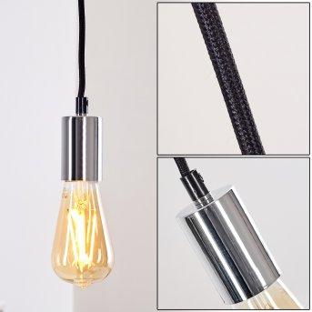 Tenna Pendant Light chrome, 1-light source