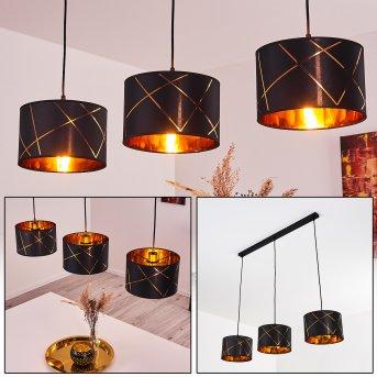 Opatija Pendant Light black, 3-light sources