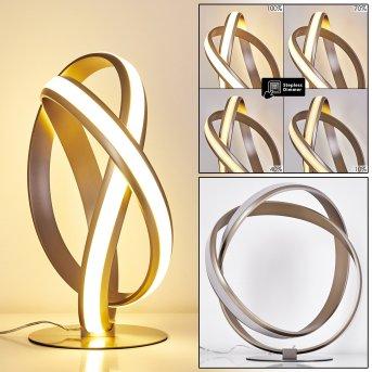 Woyens Table Lamp LED matt nickel, 1-light source