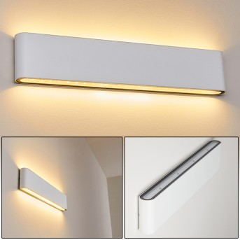 TINGLEV Outdoor Wall Light LED white, 2-light sources