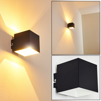 Varco Wall Light black, 1-light source