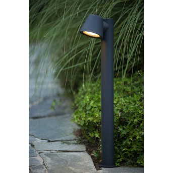 Lucide DINGO-LED bollard light black, 1-light source