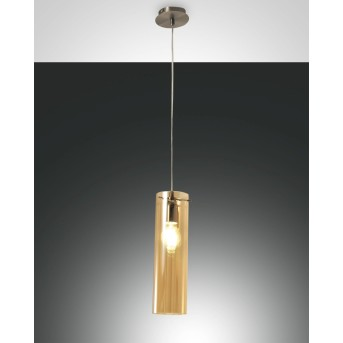 Fabas Luce SINTESI Pendant Light polished nickel, 1-light source