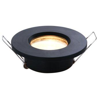 Steinhauer Pélite recessed light black, 1-light source