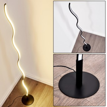 Dillon Floor Lamp LED black, 1-light source