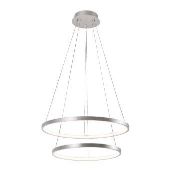 Pendant Light Leuchten Direkt CIRCLE LED silver, 1-light source
