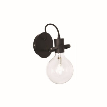 Ideal Lux RADIO Wall Light black, 1-light source