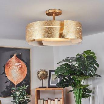 Novara ceiling light gold, 3-light sources
