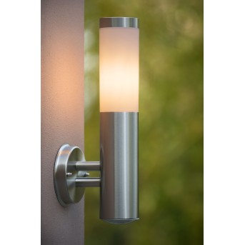 Lucide KIBO wall light aluminium, 1-light source