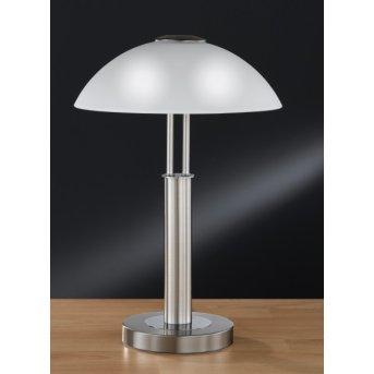 Wofi PRESCOT Table Lamp matt nickel, 2-light sources