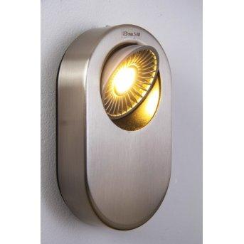 Granada wall light LED matt nickel, 1-light source
