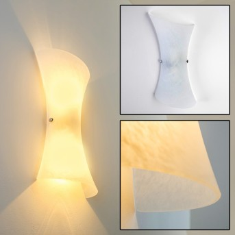 Rivoli wall light transparent, clear, 2-light sources