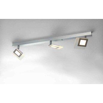 Bopp LINE ceiling light LED aluminium, 3-light sources