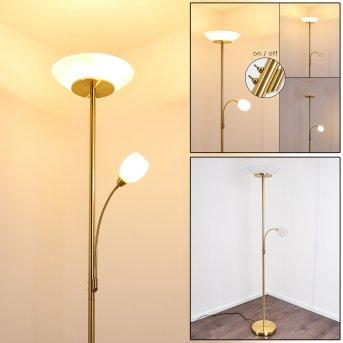 GISMARO Floor Lamp brass, 3-light sources