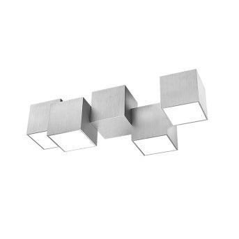 Grossmann ROCKS Ceiling light LED aluminium, 4-light sources