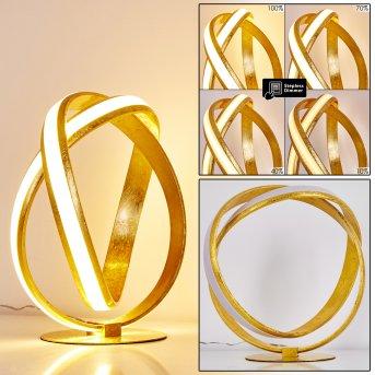 Woyens Table Lamp LED gold, 1-light source