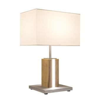 Nino Leuchten FOREST Table Lamp LED Light wood, 2-light sources