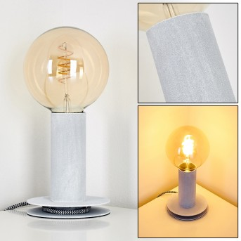KIMSTAD Table Lamp grey, 1-light source