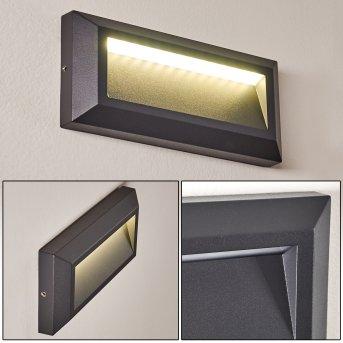 Outdoor Wall Light Alkmaar LED anthracite, 1-light source