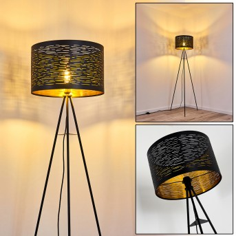Bathinda Floor Lamp black, 1-light source
