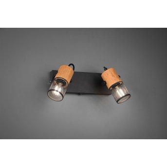 Trio TOSH Spotlight LED black, 2-light sources