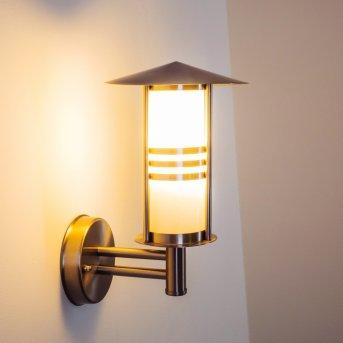Forli outdoor wall light stainless steel, 1-light source