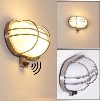 BELMOPAN Outdoor Wall Light stainless steel, 1-light source, Motion sensor