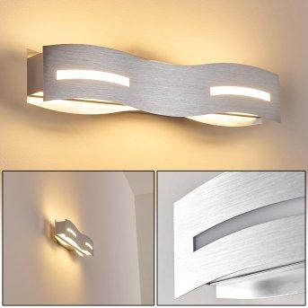 NAGOLD Wall Light LED matt nickel, chrome, 1-light source