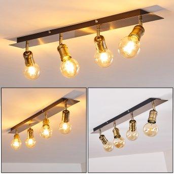 LAGUNITA Ceiling Light antique brass, 4-light sources