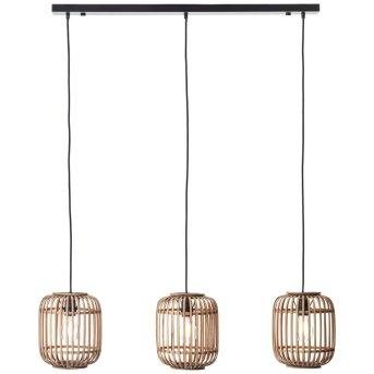Pendant Light Brilliant Woodrow brown, 3-light sources