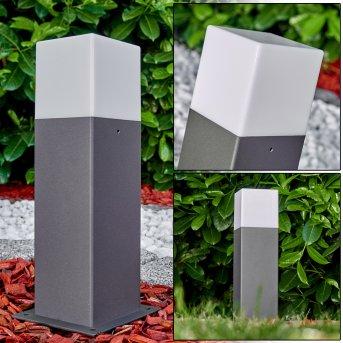 Pedestal light Algier LED anthracite, 1-light source