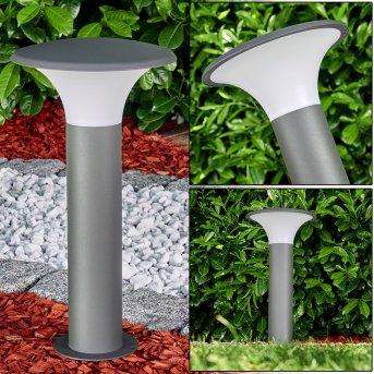 Pedestal light Chelmsford LED anthracite, 1-light source