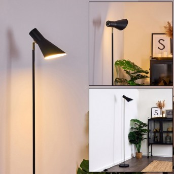 EXUMA Floor Lamp black, gold, 1-light source