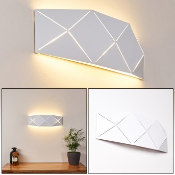 SHOUVER Wall Light LED white, 1-light source