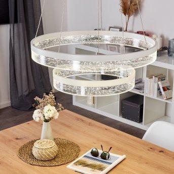 LEZHA Pendant Light LED white, 2-light sources