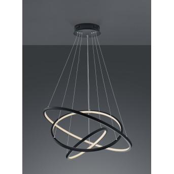 Trio AARON Pendant Light LED anthracite, 1-light source, Remote control, Colour changer