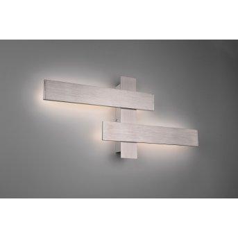 Trio BELFAST Wall Light LED matt nickel, 2-light sources