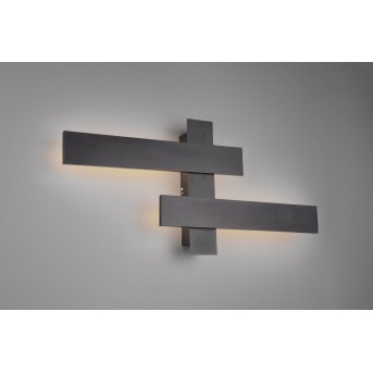 Trio BELFAST Wall Light LED black, 2-light sources