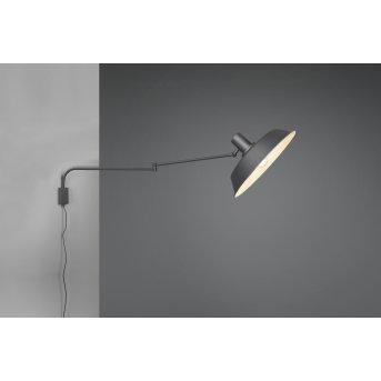 Trio BOLDER Wall Light LED black, 1-light source