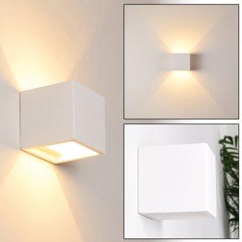 BRASLO Wall Light white, 1-light source