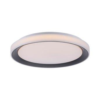 Leuchten-Direkt LOLASMART_DISC Ceiling Light LED black, 1-light source, Remote control, Colour changer