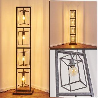 Floor Lamp Westbroek silver, 4-light sources