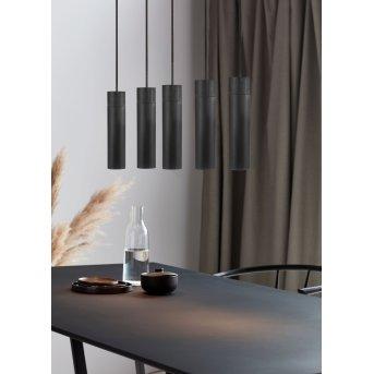Nordlux TILO Pendant Light black, 5-light sources
