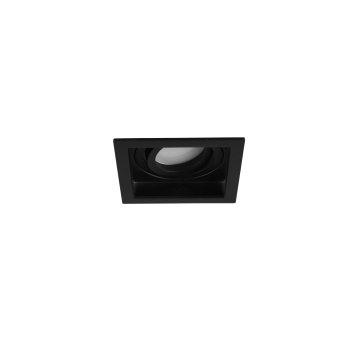 Trio KENAI recessed light LED black, 1-light source
