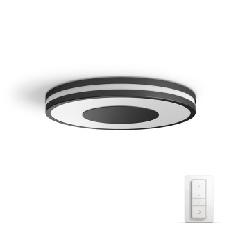 Philips HUE AMBIANCE WHITE BEING Ceiling Light LED black, white, 1-light source, Remote control