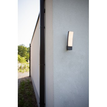 Lutec KIRA Outdoor Wall Light LED anthracite, 1-light source