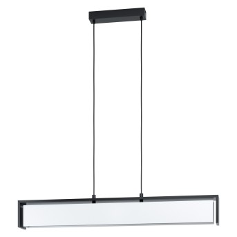 Eglo VALDELAGRANO Pendant Light LED black, 1-light source, Colour changer