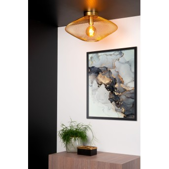 Lucide MESH Ceiling Light brass, gold, 1-light source