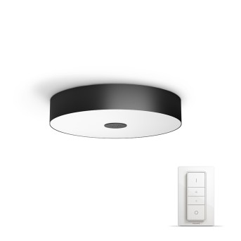 Philips HUE AMBIANCE WHITE FAIR Ceiling Light LED black, 1-light source, Remote control