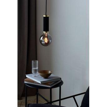 Nordlux GALLOWAY Pendant Light brass, black, 1-light source